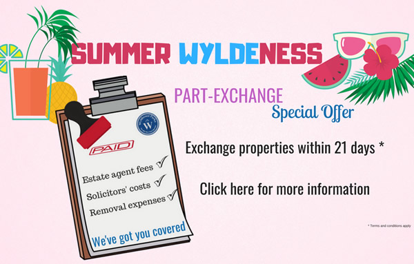 Part Exchange Special Offer for property pages