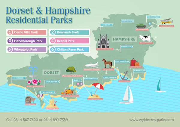 Brochure Request Dorset and Hampshire Wyldecrest Parks