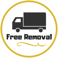 Free Removal Service Logo