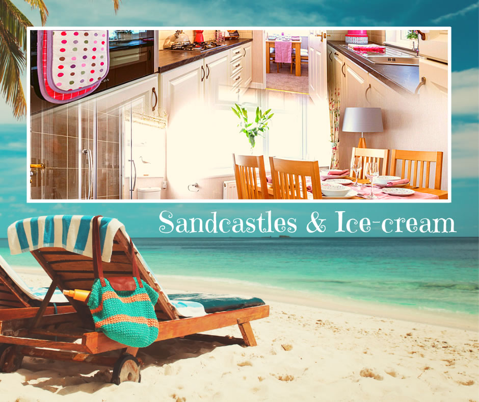 Sandcastles & Ice-cream blog banner image