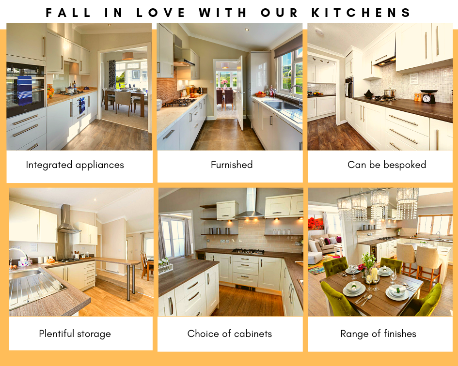 fall in love with a new kitchen