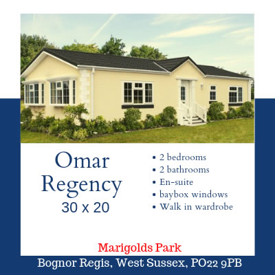 Omar regency on Marigolds Park