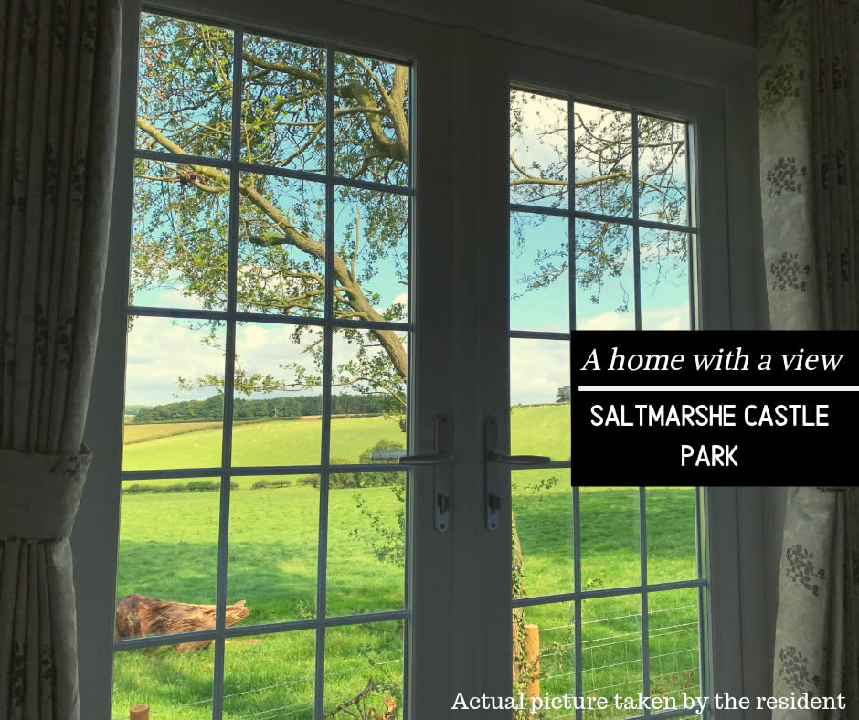 Saltmarshe Castle Park - A home with a view Blog Banner