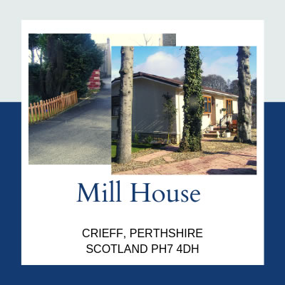 Residential Parks in Crieff - Mill House