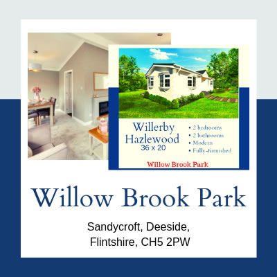 Residential Parks in Flintshire - Willow Brook
