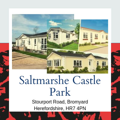 Residential Parks in Herefordshire - Saltmarshe Castle