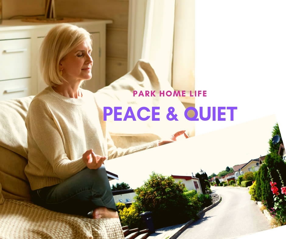 Peace and Quiet Wyldecrest Parks Blog Banner