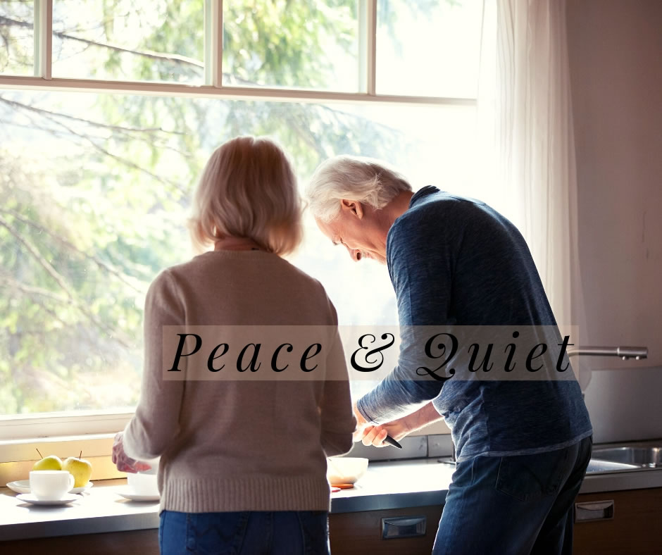 Elm Tree Park Blog - Peace and Quiet Banner