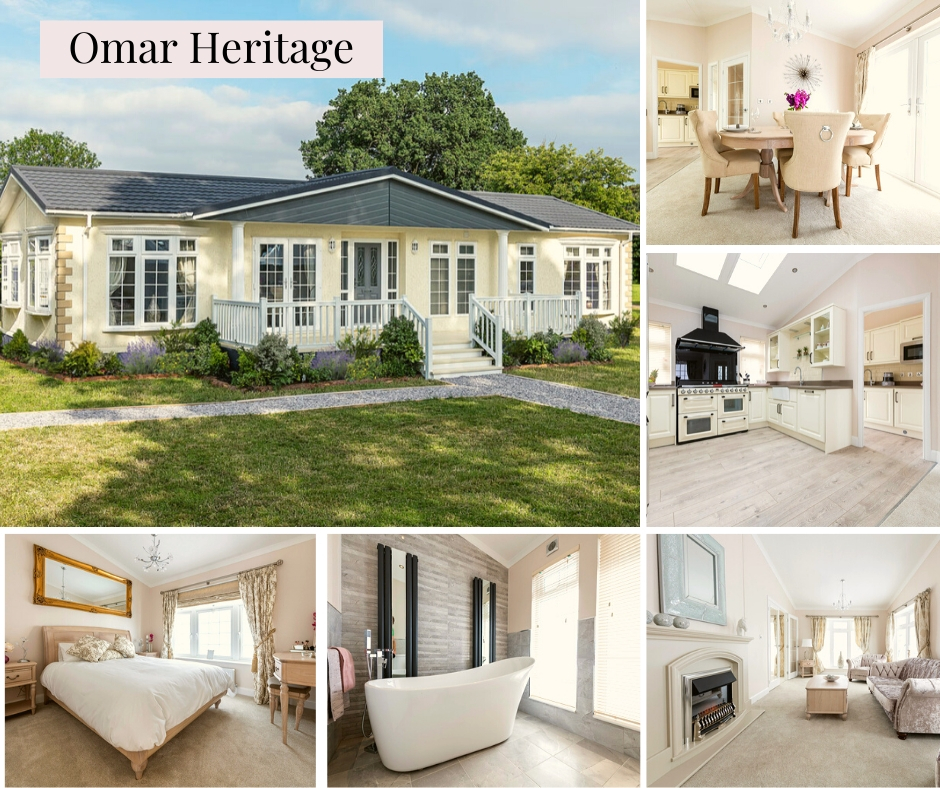 Omar Heritage Deluxe Park Home Banner