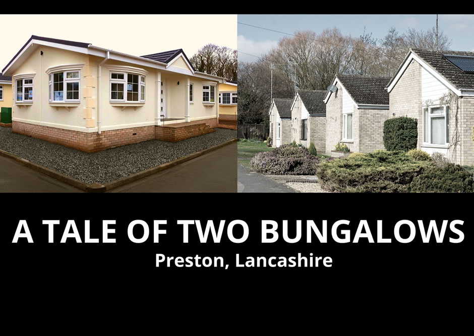 A tale of two bungalows - Blog Top Banner