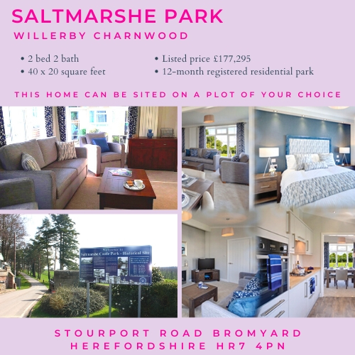 Willerby Charnwood on Saltmarshe Castle Park