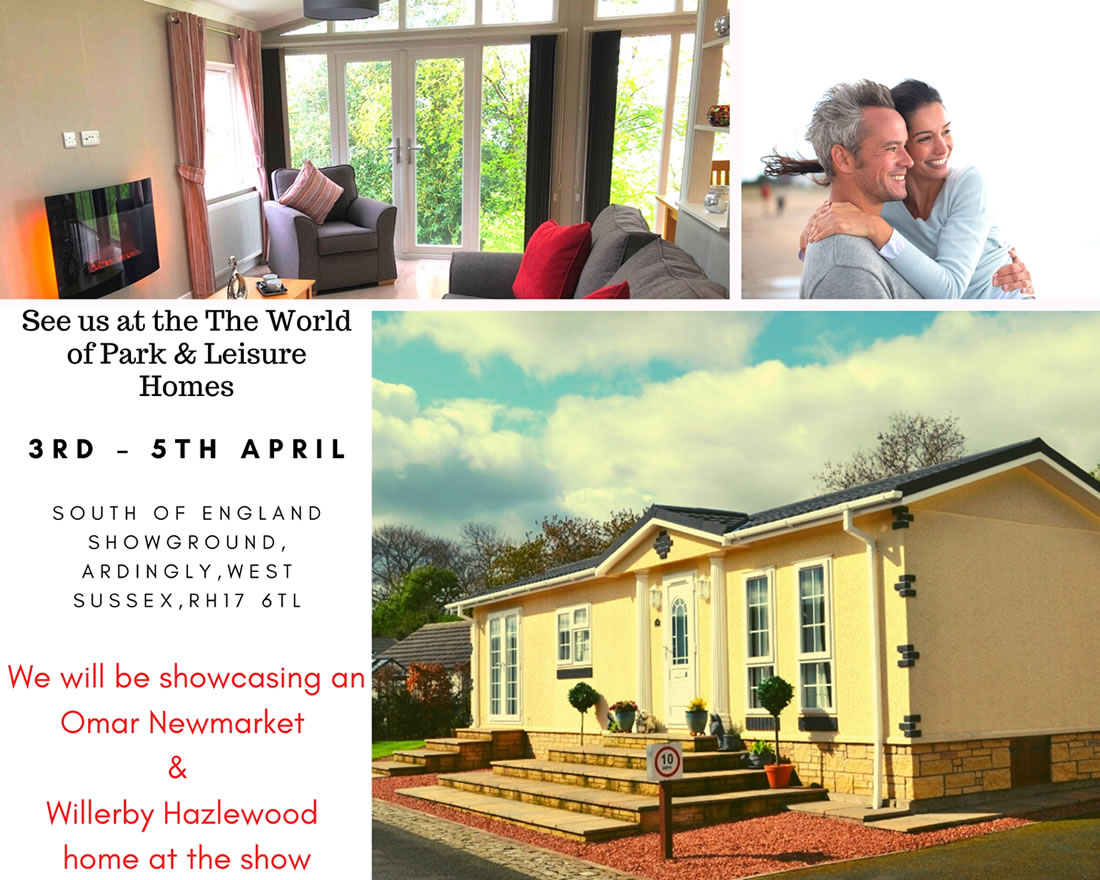 The World Of Park and Leisure Homes - Ardingly show 2020