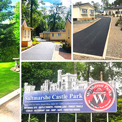 Saltmarshe Castle Park Then and Now Small Blog Banner