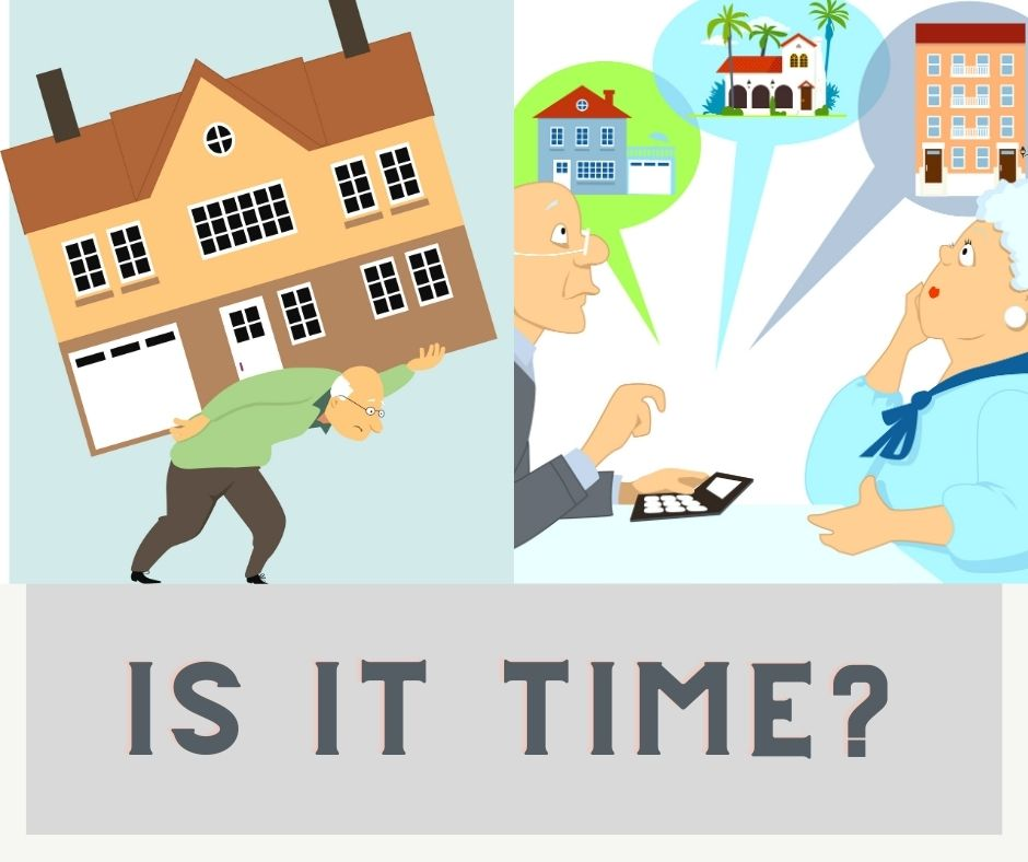 Downsize, is it time blog banner
